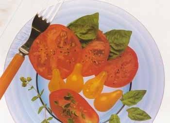 medley de trois tomates basilic et marjolaine blogs de. Black Bedroom Furniture Sets. Home Design Ideas