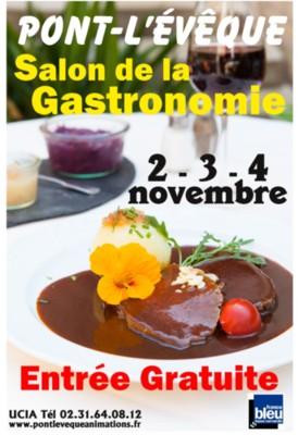 Salon de la gastronomie pont l v que recettes d 39 hubert for Salon de la gastronomie