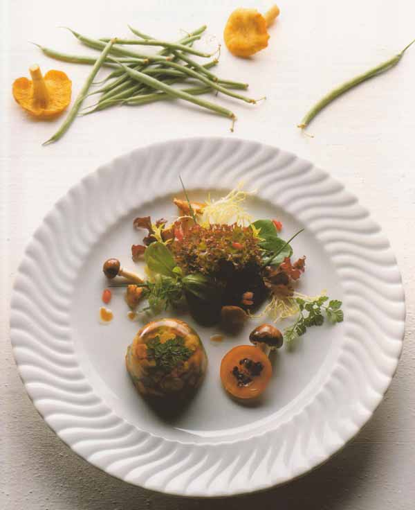 Aspic de canard aux girolles et salade d 39 automne for Salle a manger xeres