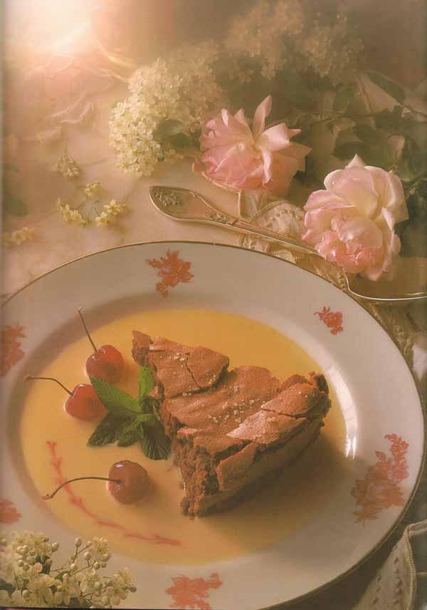 Le d licieux g teau au chocolat de marie claude gracia for Salle a manger xeres