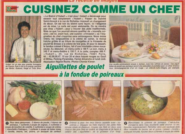 Cuisinez comme un chef aiguillettes de poulet la for Cuisinez comme un chef