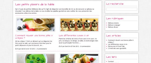Site d couvrir d lices de la table d guster - Restaurant la table des delices grignan ...
