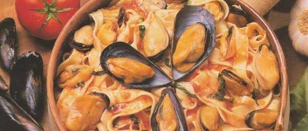 Les pâtes fraîches aux moules